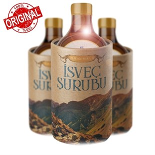 1 Kutu Originals İsveç Şurubu Gold Şurubu 100 Ml